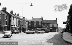 Barton Upon Humber, Market Place c.1955