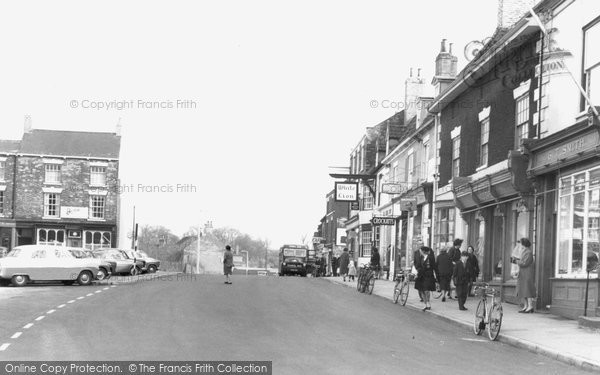 Photo of Barton Upon Humber, Market Place c1960