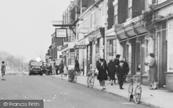 Barton Upon Humber, Market Place Shops c.1960