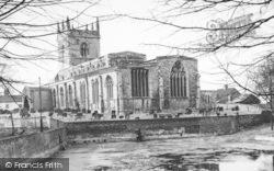 Barton Upon Humber, St Mary's Church c.1960