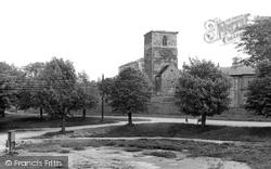 Barton Upon Humber, St Peter's Church c.1960