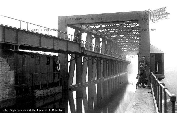Barton Upon Irwell, Barton Aqueduct 1894