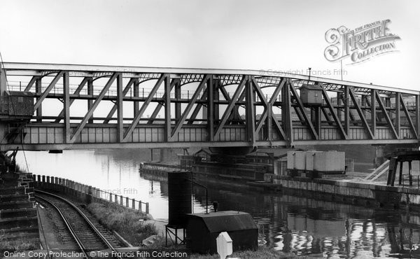 Barton Upon Irwell, The Aqueduct c.1955