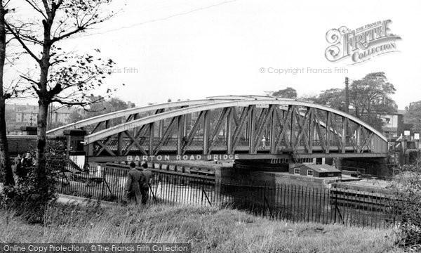Photo of Barton Upon Irwell, The Bridge c.1955