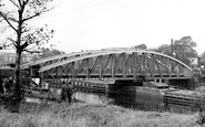 Barton Upon Irwell, the Bridge c1955