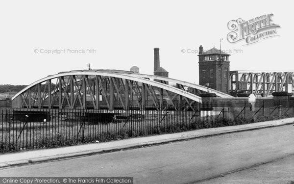 Barton Upon Irwell, The Road Bridge c.1955