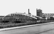 Barton Upon Irwell, the Road Bridge c1955