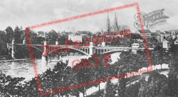 Bridge And Cathedral c.1930, Basel