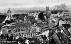 Deutschrittergarten c.1930, Basel