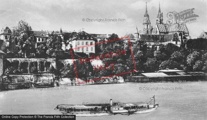 Photo of Basel, Deutschrittergarten M.Rheinpflalz c.1930
