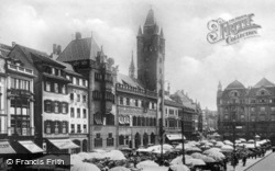 Market Square And Town Hall c.1930, Basel
