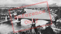 Wettsteinbrücke And The Rhine c.1930, Basel