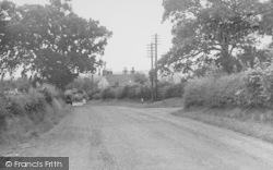Bashall Eaves, Main Road c.1955