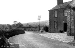 Bashall Eaves, Main Road c.1960