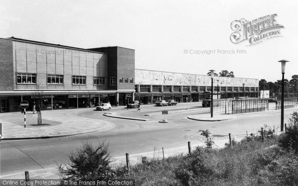 Basildon, Blenheim House And Bus Terminus c.1965