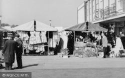 Market Stalls c.1960, Basildon
