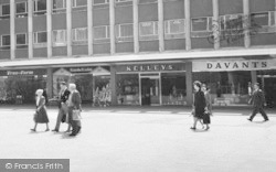 Basildon, People At Town Square c.1960