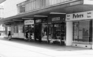 Basildon, South Gunnels Shopping Parade c.1965