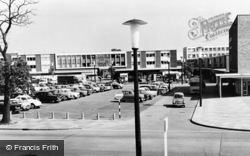 Basildon, The Market Place c.1965