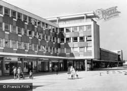 The Town Square And Keay House c.1960, Basildon