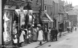 A Shop In Church Street 1904, Basingstoke