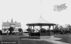 Fairfields Recreation Ground, The Bandstand 1898, Basingstoke