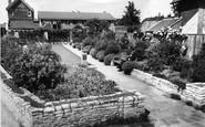 Basingstoke, Gardens For The Blind, Church Square c.1960