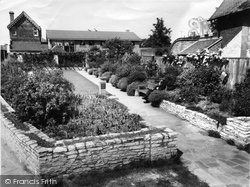 Gardens For The Blind, Church Square c.1960, Basingstoke