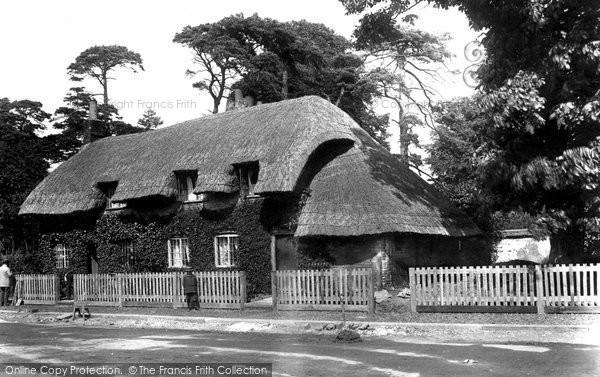 Basingstoke, Hackwood Road 1898