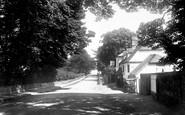 Basingstoke, London Road And The White Hart Inn 1898