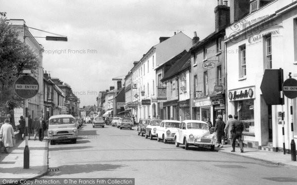 Basingstoke, London Street 1962