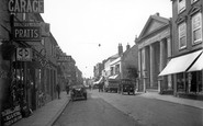 Basingstoke, London Street c.1930