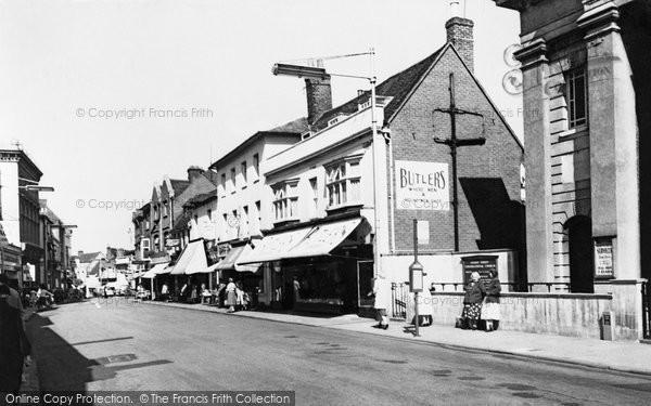 Basingstoke, London Street c.1960
