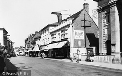 London Street c.1960, Basingstoke