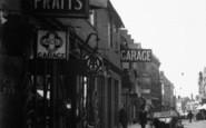 Basingstoke, London Street, Garage c.1930