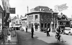 Basingstoke, Market Place c.1955