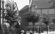 Basingstoke, Men Talking In Council Road 1898