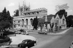 St Michael's Church c.1960, Basingstoke
