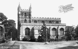 St Michael's Parish Church, South Side 1898, Basingstoke