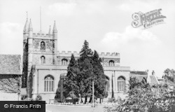 Basingstoke, The Parish Church c.1955