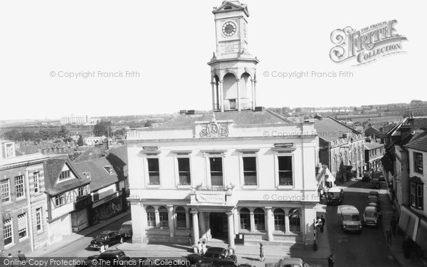 Photo of Basingstoke, Town Hall c1960