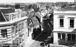 View Down Church Street c.1960, Basingstoke