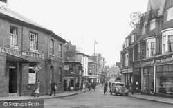 Winchester Street From Winton Square c.1955, Basingstoke