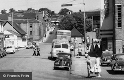 Basingstoke, Wote Street And Waldorf Cinema c.1960