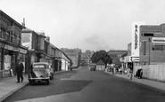Basingstoke, Wote Street Looking Towards Station Hill c.1955