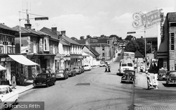 Wote Street Looking Towards Station Hill c.1960, Basingstoke