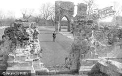 Basingwerk, The Abbey After Restoration c.1930