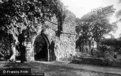 Basingwerk, The Abbey c.1930