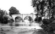Baslow, Bridge c1870