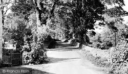 Bubnell Lane c.1955, Baslow